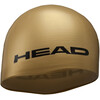 Head Silicone Moulded Swimcap Gold